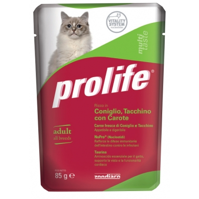 Complete cat food for adult cats  Without preservatives, colourings and flavourings added  Fresh Duck and Chicken Meat Pouch single serve 85 g
