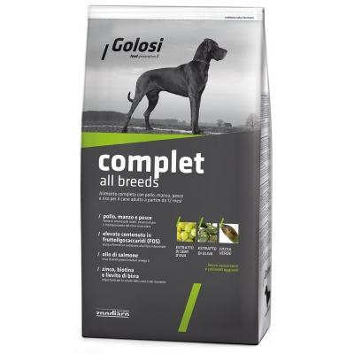 Complete pet food with turkey and rice for large breed adult dogs from 16 months old